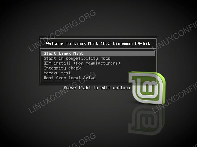 mint-boot-linux-live